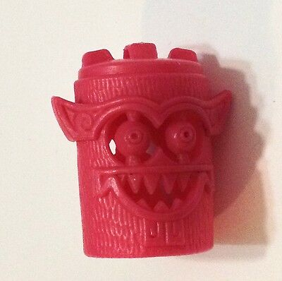 R&l Cereal Toy 1972 ~ Totem Tribe ~ Owleyes ~ Pink ~ Aussie Kelloggs