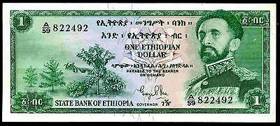 Ethiopia. One Dollar, A/59 822492, (1961), Good Very Fine or better.