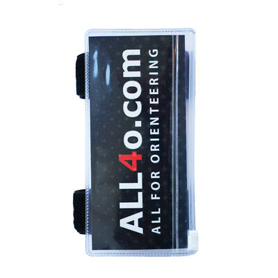 All4o.com  description holder with zipper for orienteering, size M