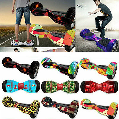 Protective Skin Decal for 6.5''-10'' Self Balancing Scooter Hoverboard 2 Wheels