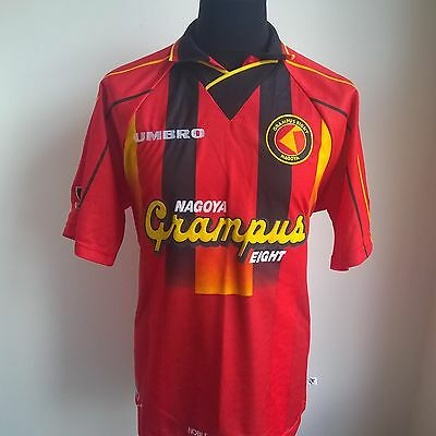 Nagoya Grampus Eight 1996 Home Umbro Football Shirt Jersey Size Adult L