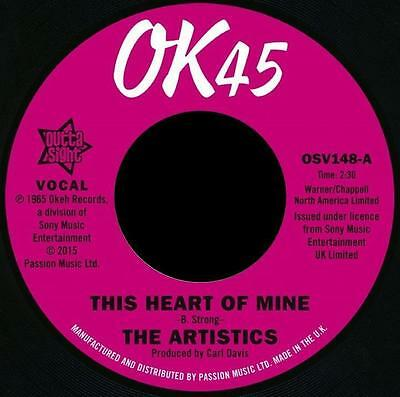 "ARTISTICS * This Heart Of Mine + So Much Love In My Heart  7"" Neu*Outta Sight"