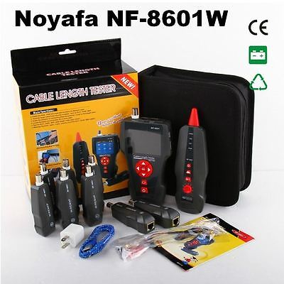 NF-8601W RJ45 BNC PING/POE LAN Network Cable Tester UTP STP Diagnose Tone Tracer
