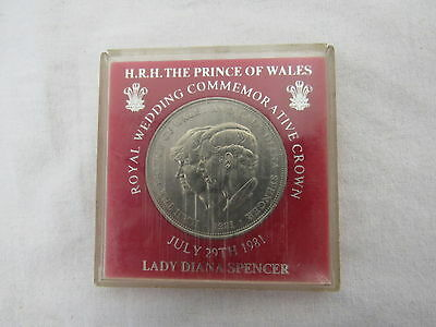 HRH prince Of Wales Lady Diana 1981 Commemorative Wedding Coin - YEO P23