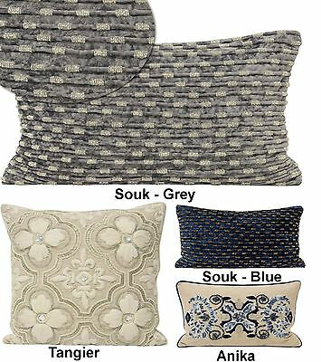Luxury Hand Crafted Beaded Scatter Cushion Covers By Paoletti High Quality