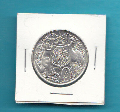 Uncirculated 1966 Silver 50 Cent Coin Nice