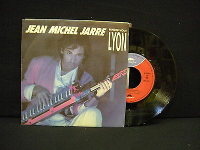 Jean Michel Jarre ‎– Rendez-Vous Lyon ' 7'' MINT SPAIN PRESS
