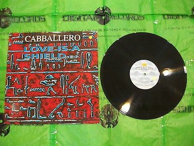 Cabballero – Love Is A Shield EP   ' 12'' N.MINT MAX MUSIC