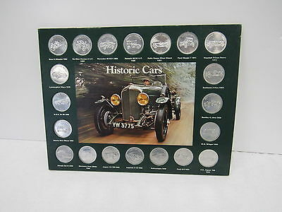 Shell Historic Cars Coins - YEO L90