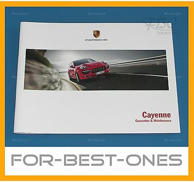 NEW Porsche Cayenne Owners Service Maintenance Warranty Guarantee record book