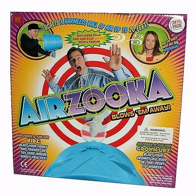 New, Airzooka Cannon Toy Fires A Blast Of Air Upto 50 Feet