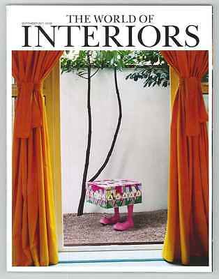 World Of Interiors Magazine September 2011 Limited Edition Collectors Cover New