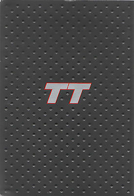 Audi TT Mk1 Coupe and Roadster Press Brochure/Photos/Slides - 2000 for 2001 MY
