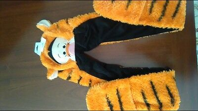 NWT - Disney Parks Tigger Winnie the Pooh All in One Ears Hat Scarf Mittens