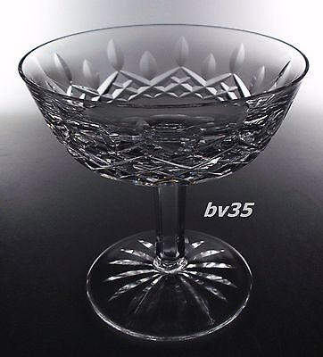 """Waterford Crystal Lismore Champagne Sherbet  4 1/8""""  -  Set Of 2 Champagnes"""