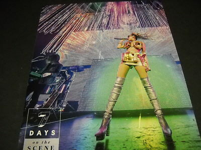 MILEY CYRUS outageous costume on stage 2015 PROMO POSTER AD