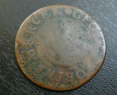 Oxfordshire Banbury 17th Century Token W16 1/2d 1669 George Robins