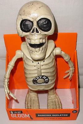 Gloom For Your Room Dancing Skeleton Figure- Dances To Ghostbusters- Watch Video