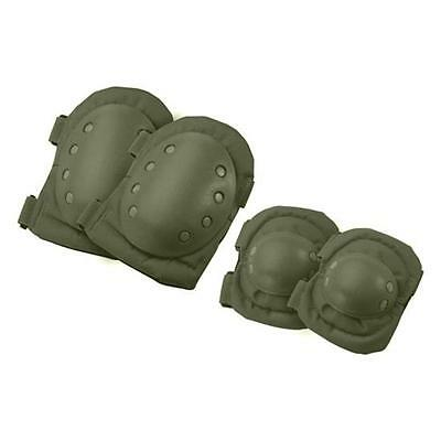 Barska Optics BI12280 CX-400 Tactical Elbow and Knee Pads, Green