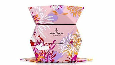 French Champagne Veuve Clicquot Clicq'up Origami Bucket / Cooler Pink Model