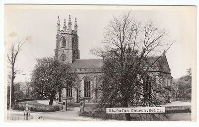 St Rufus Church Keith Banffshire Scotland Real Photograph Old Postcard Unposted