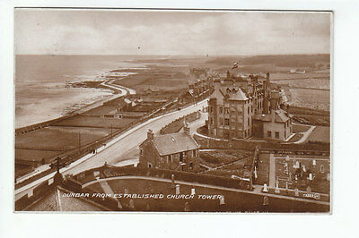 Dunbar From Established Church Tower East Lothian 1912 Real Photograph Todd