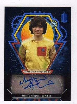 Doctor Who Extraterrestrial Encounters . Matthew Waterhouse as Adric Auto #21/25