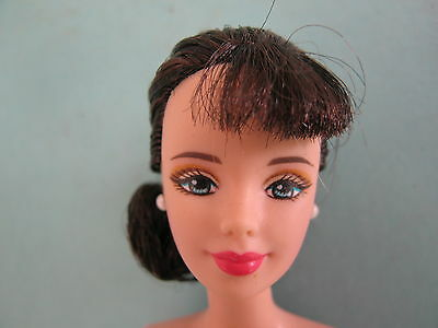 Barbie Brunette Collector Nude Doll Mackie Face