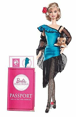 Dolls Of The World/argentina - Passport Collection/new/nrfb/usa Free Ship