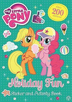 Holiday Fun Sticker and Activity Book (My Little Pony), My Little Pony | Paperba