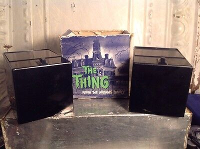 Vintage 1964 Addams Family THE THING battery operated Bank Poynter Japan LOT 2