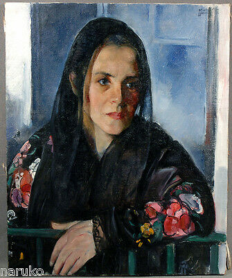 Martha Walter Oil Painting Of Woman From The Walter Estate Beautiful