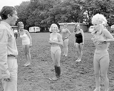 """Carry On Camping Barbara Windsor Film Still 10"""" x 8"""" Photograph no 18"""