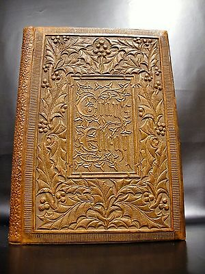 OWEN JONES Gray's Elegy Illuminated Manuscript Printed Antique Book RELIEVO Rare