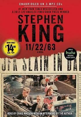 11/22/63 by Stephen King MP3 CD Book (English)