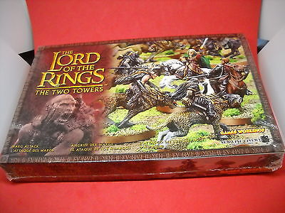 LOTR: Lord of the Rings: metal Warg Attack box set: NIS