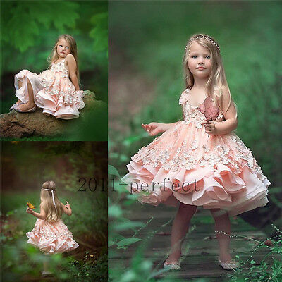 New Wedding Bridesmaid Flower Girl Party Prom Princess Pageant Communion Dresses