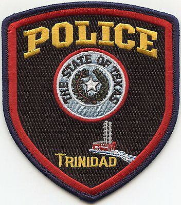 Trinidad Texas Tx Police Patch