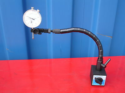 Flexible Arm Magnetic Base W/ 0-10mm Dial Indicator 60kgs Force