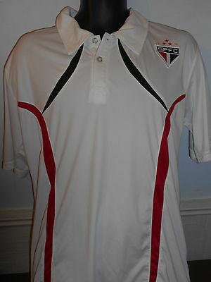 Sao Paulo FC Polo Shirt size G= large men's #297
