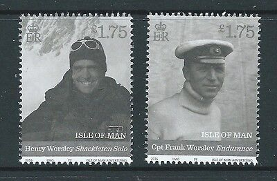 Isle Of Man 2016  The Endurance Centenary Shackleton Antarctica Unmounted Mint