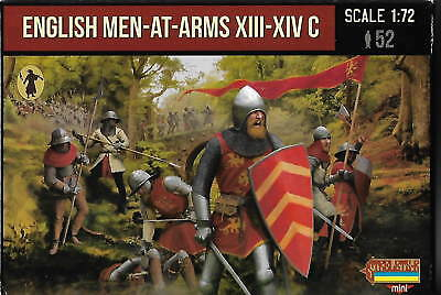 Strelets Set M 118. English Men-At-Arms Xiii-Xiv C. 1/72 Scale.