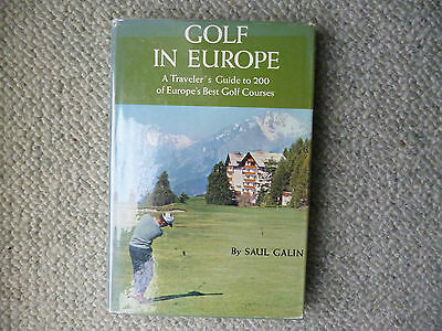 Best European Courses book from USA 1967 1st ed HB DW