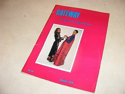 Vintage Publication Gateway, The Magazine of The Wiggins Teape Group, Very Rare