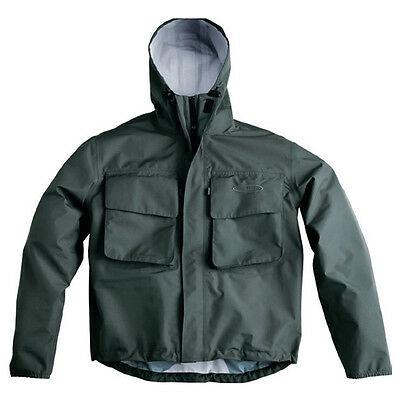 Vision Vector Waterproof 3 Layer Fishing Wading Jacket Sizes M-XXL