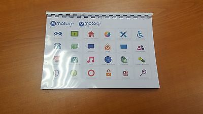 Motorola G4/g4 Plus/g4 Play Printed Instruction Manual User Guide 54 Pages (A5)