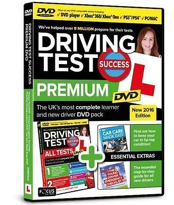 Driving Test Success Premium 2016 Edition DVD BRAND NEW SEALED PRODUCT
