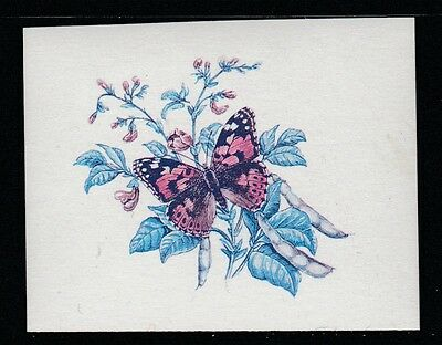 Lesotho (605) 1984 Butterflies 15s IMPERF PROOF in blue & magenta only u/m