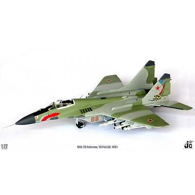 JC Wings 1:72 JCW72MG29001 MiG-29 Fulcrum 2nd Squadron 1521st AB 1991
