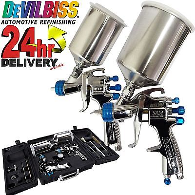 DeVilbiss SLG-650 Compliant Spray Gun & HVLP Gun Spray Paint Air Painting Kit